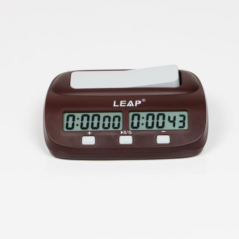 ab0b422089d Relógio digital de xadrez Leap - Mearas Escola de Xadrez